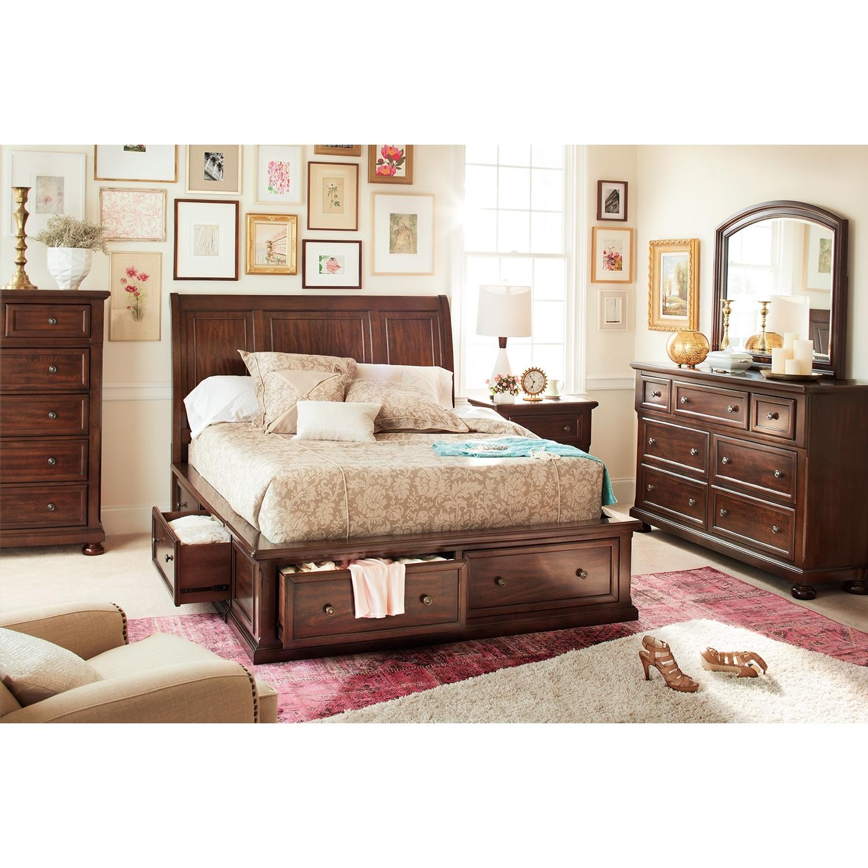 7 piece bedroom furniture sets photo - 8