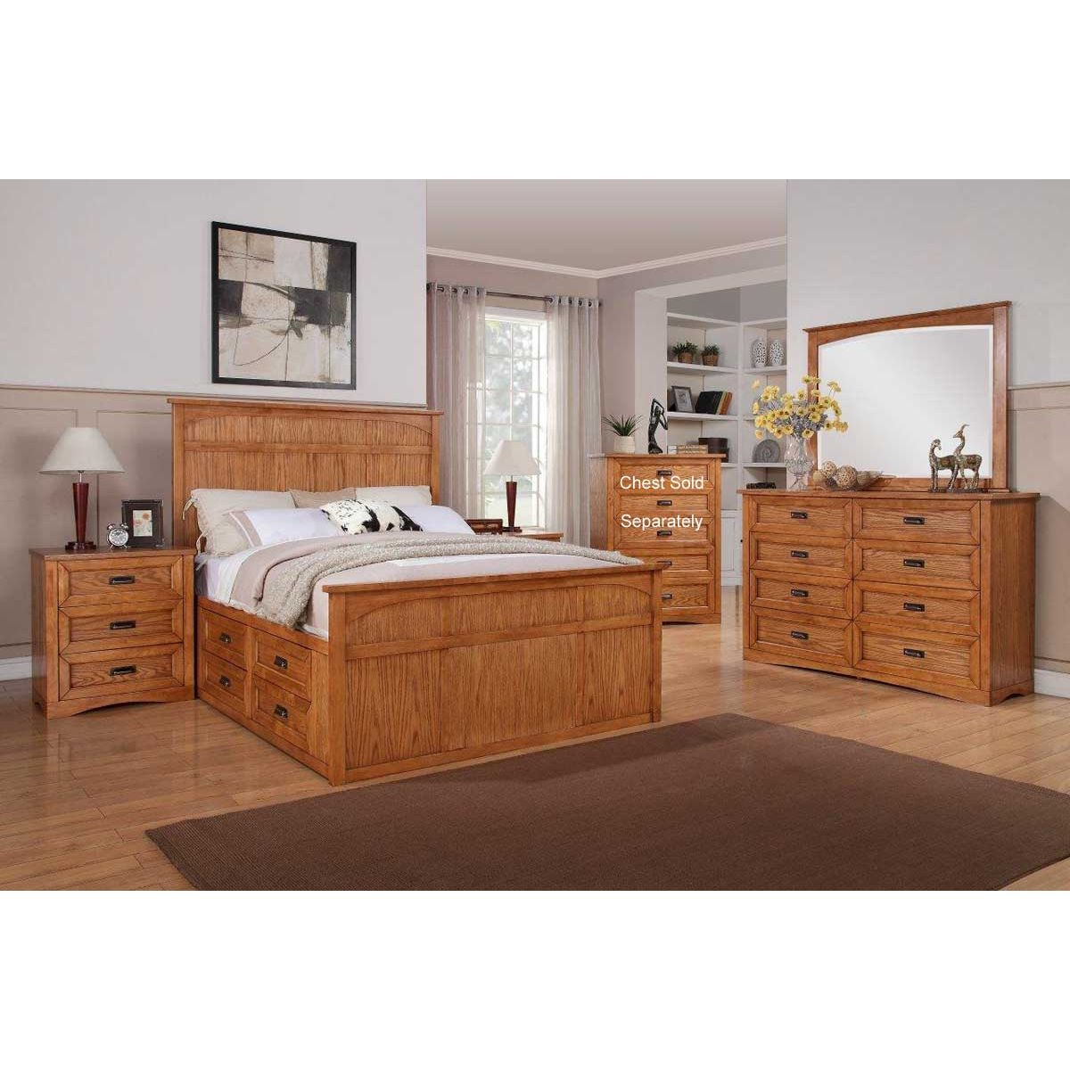 7 Piece King Bedroom Furniture Sets Photo   2