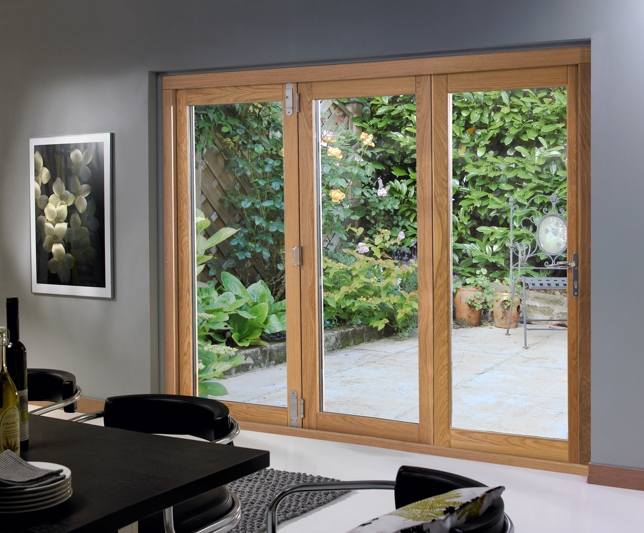 8 foot french doors exterior photo - 7