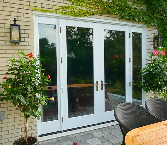 8 foot french doors exterior photo - 8