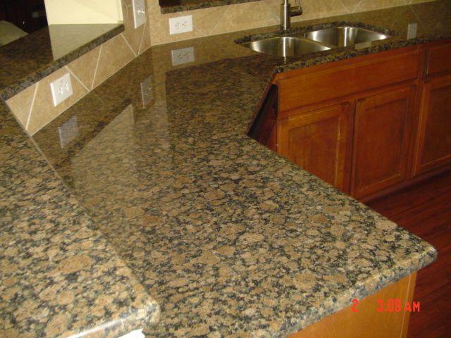 Baltic Brown Granite Countertops photo - 10