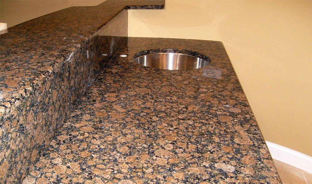 Baltic Brown Granite Countertops photo - 2