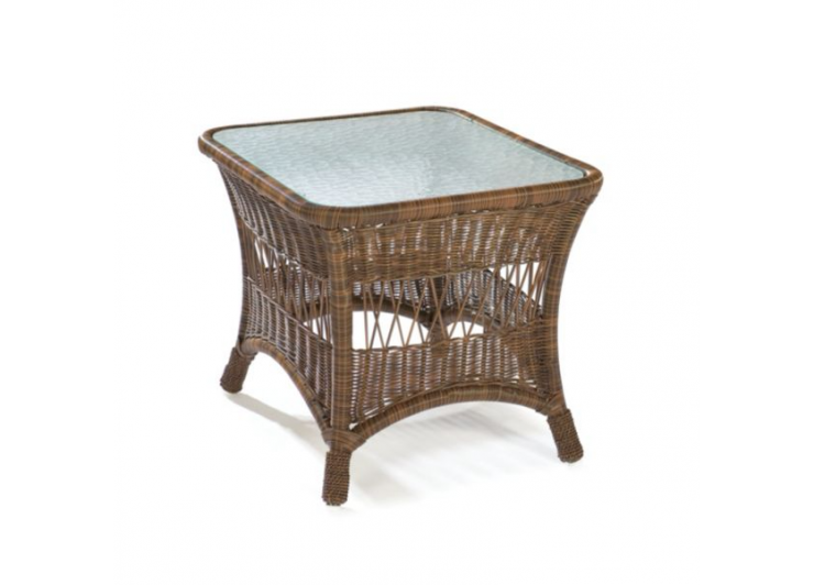 Bar Harbor Outdoor Wicker Accent Table photo - 2