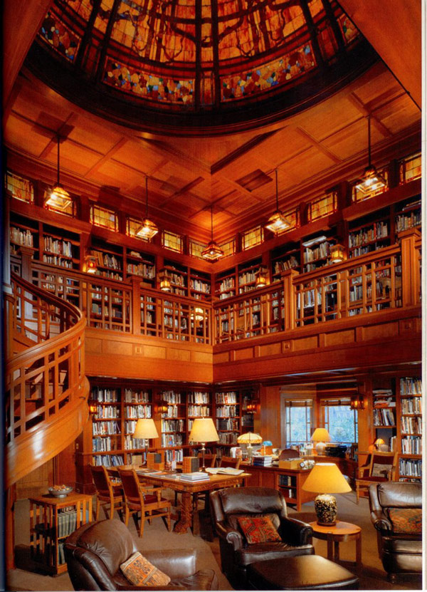 Beautiful Private Libraries photo - 2
