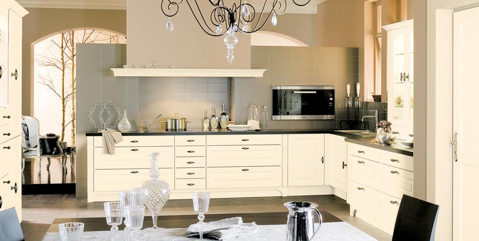 Beige Kitchen Interior photo - 1