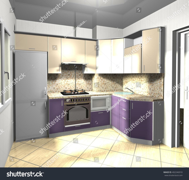 Beige Kitchen Interior photo - 10