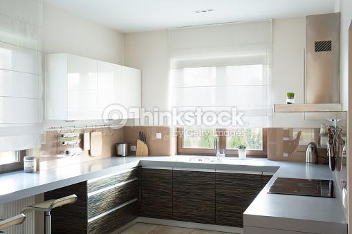 Beige Kitchen Interior photo - 4
