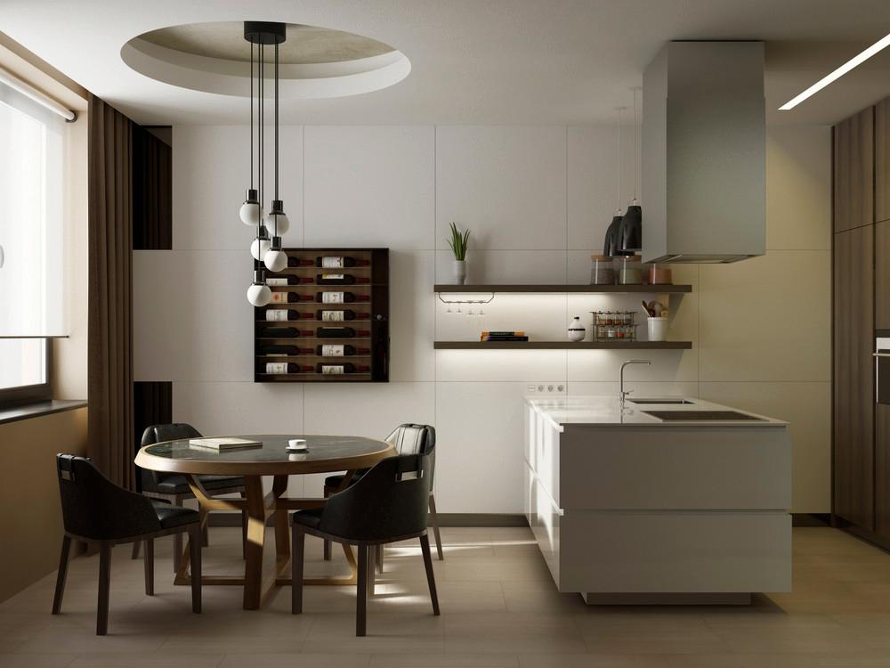 Beige Kitchen Interior photo - 7