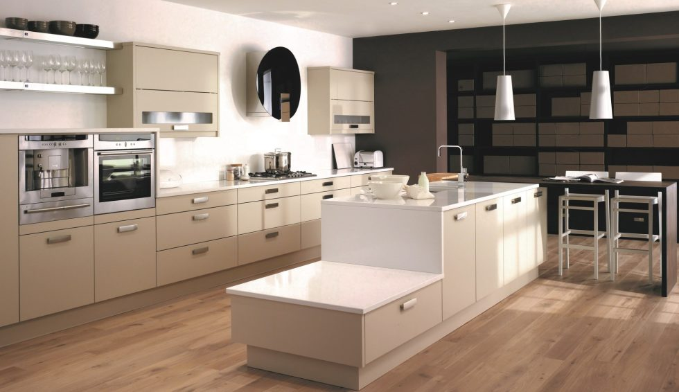 Beige Kitchen Interior photo - 9