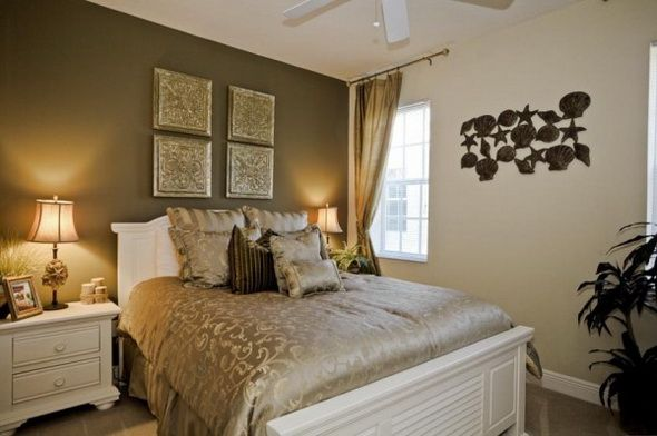 Beige and Brown Bedroom photo - 10