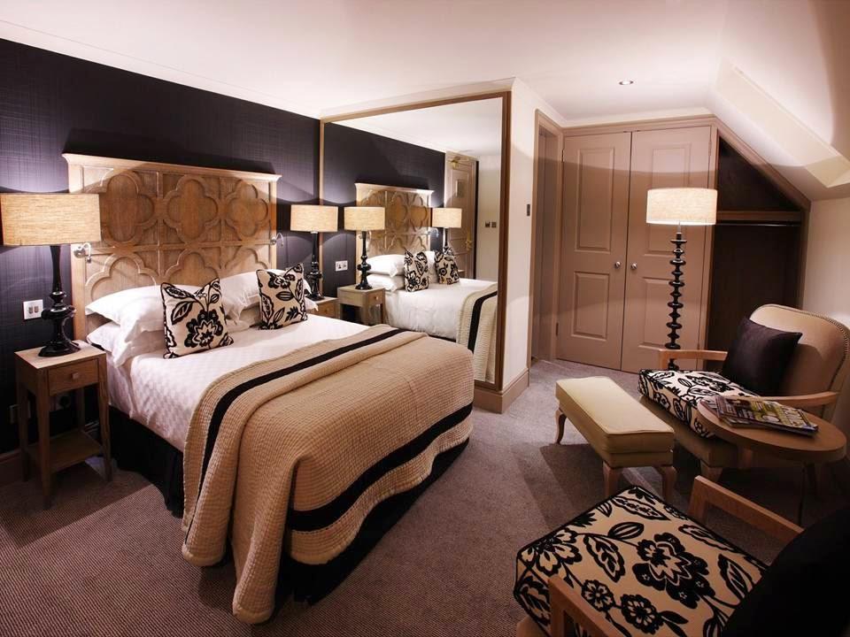 Beige and Brown Bedroom photo - 3