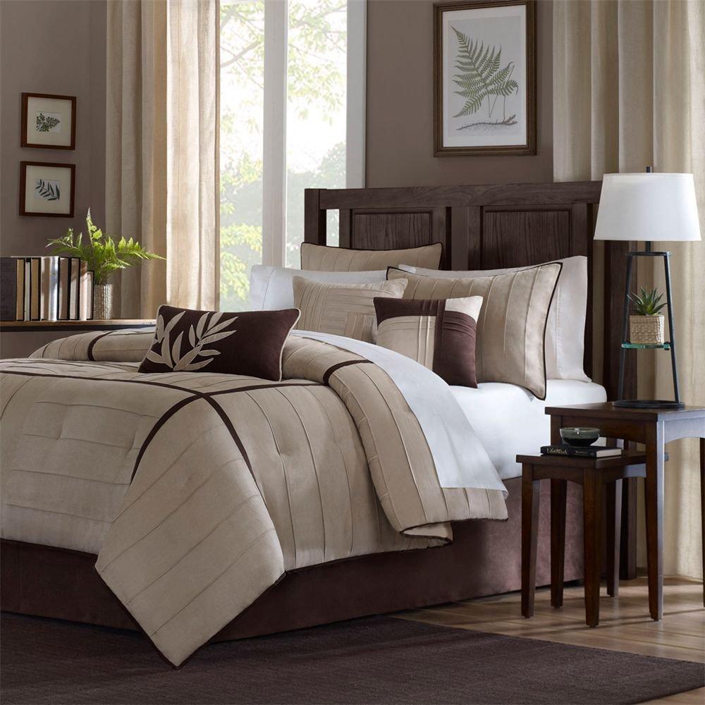 Beige and Brown Bedroom photo - 4