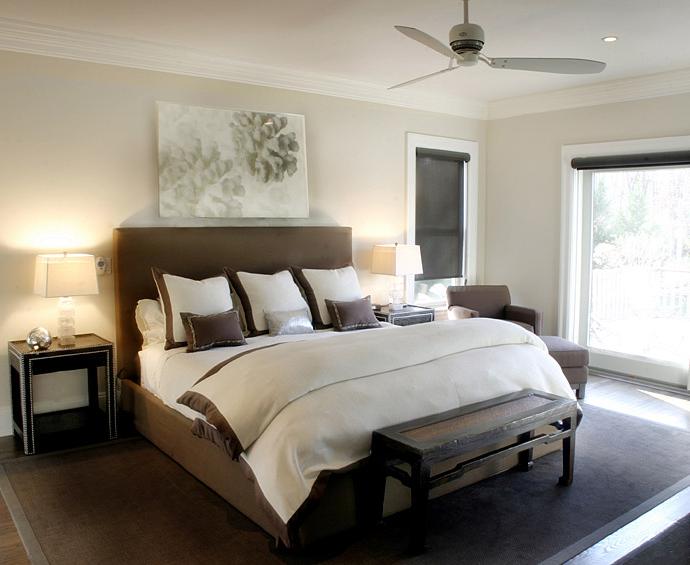 Beige and Brown Bedroom photo - 6