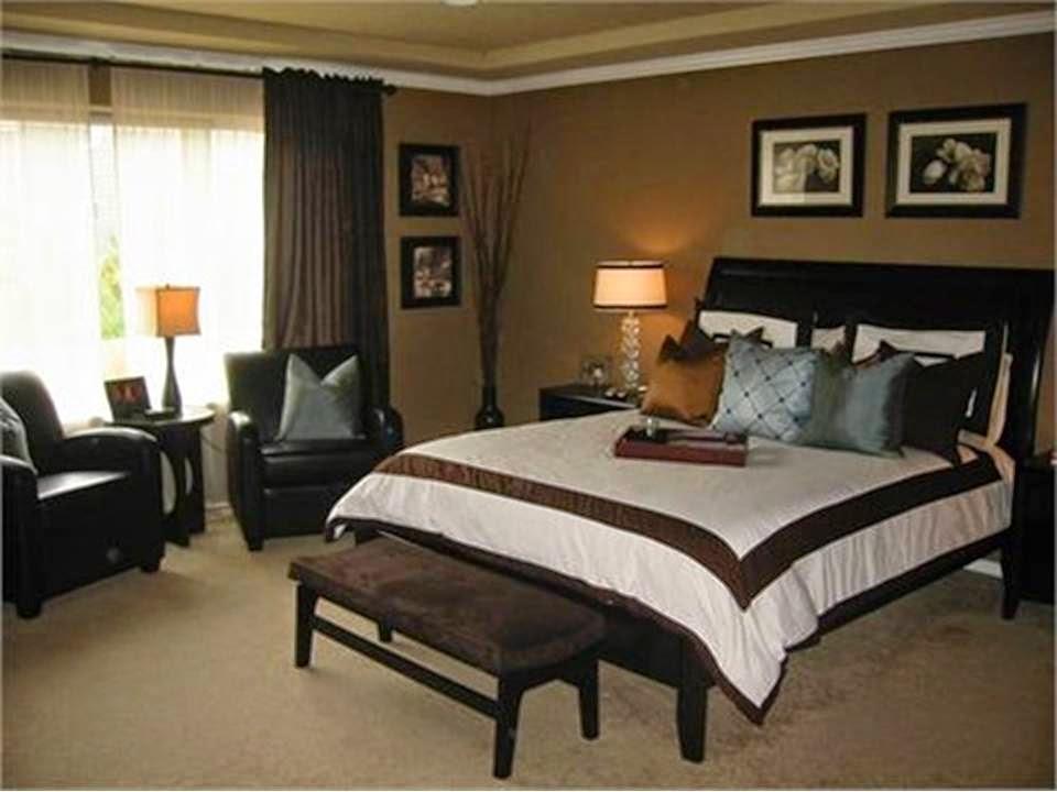 Beige and Brown Bedroom photo - 7