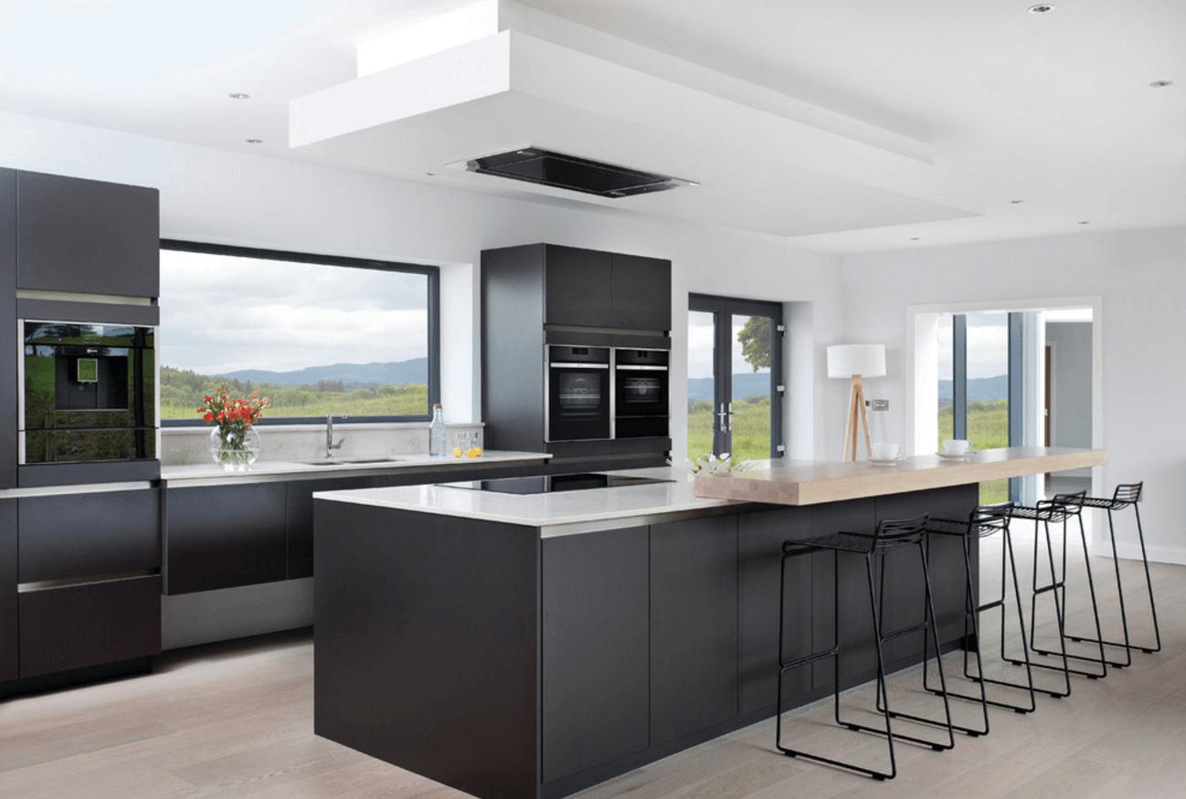 Black Modern Kitchen photo - 10