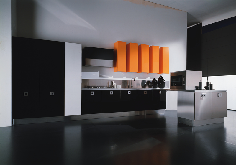 Black Modern Kitchen photo - 4