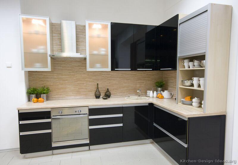 Black Modern Kitchen photo - 6