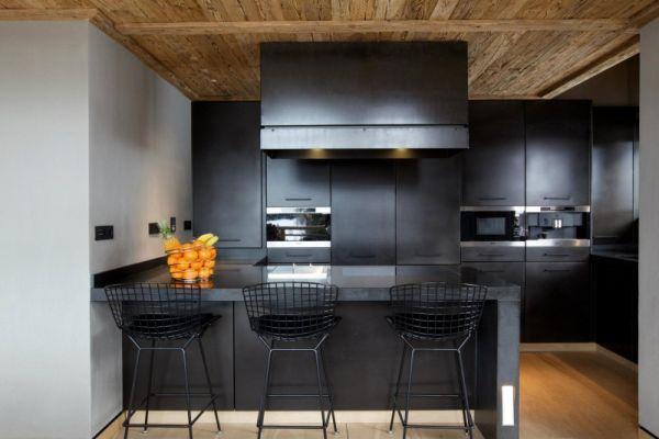 Black Modern Kitchen photo - 7