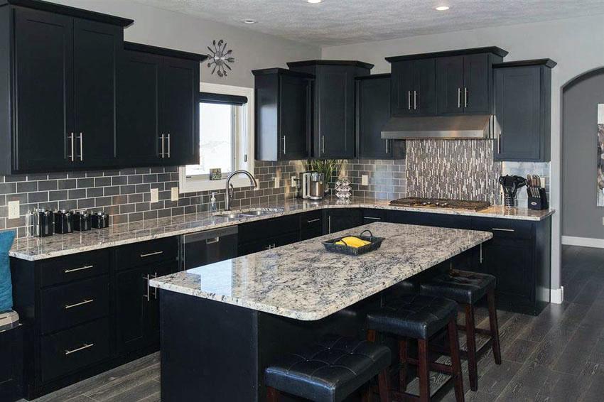 Black Modern Kitchen photo - 8