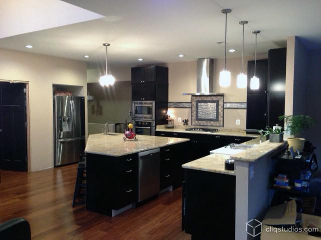Black Modern Kitchen photo - 9