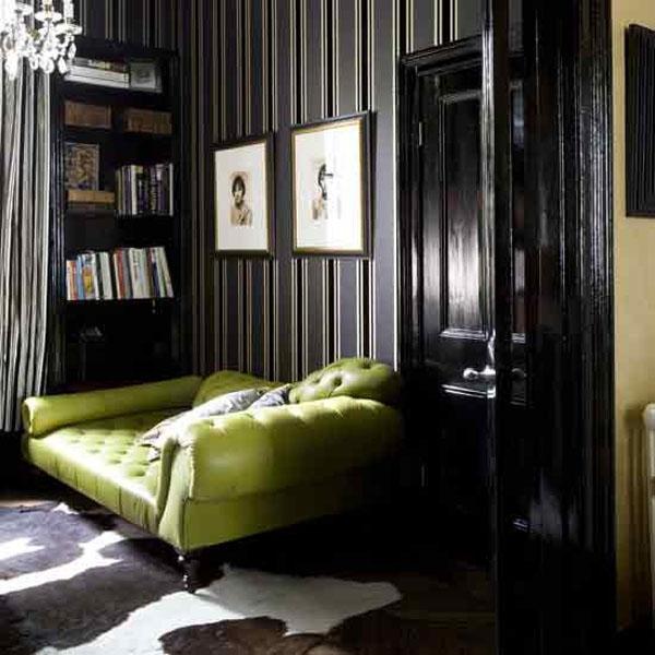 Black Wallpaper Room Designs photo - 6