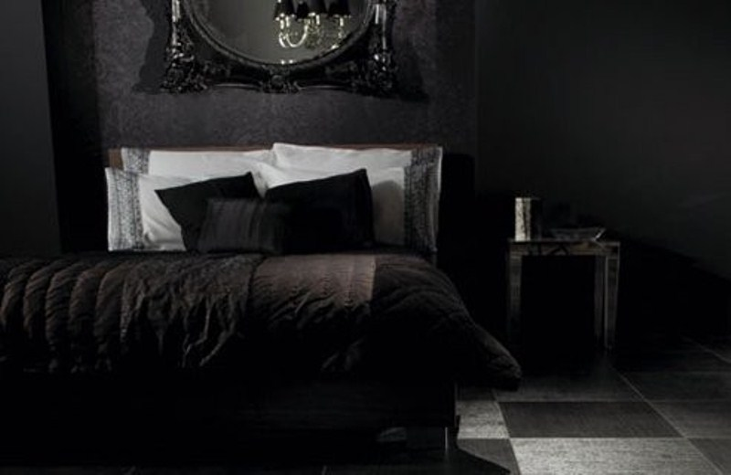 Black Wallpaper Room Designs photo - 9