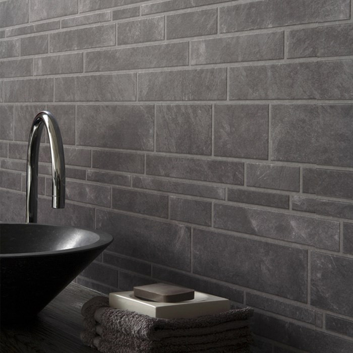 Black and bronze kitchen wallpaper photo - 6
