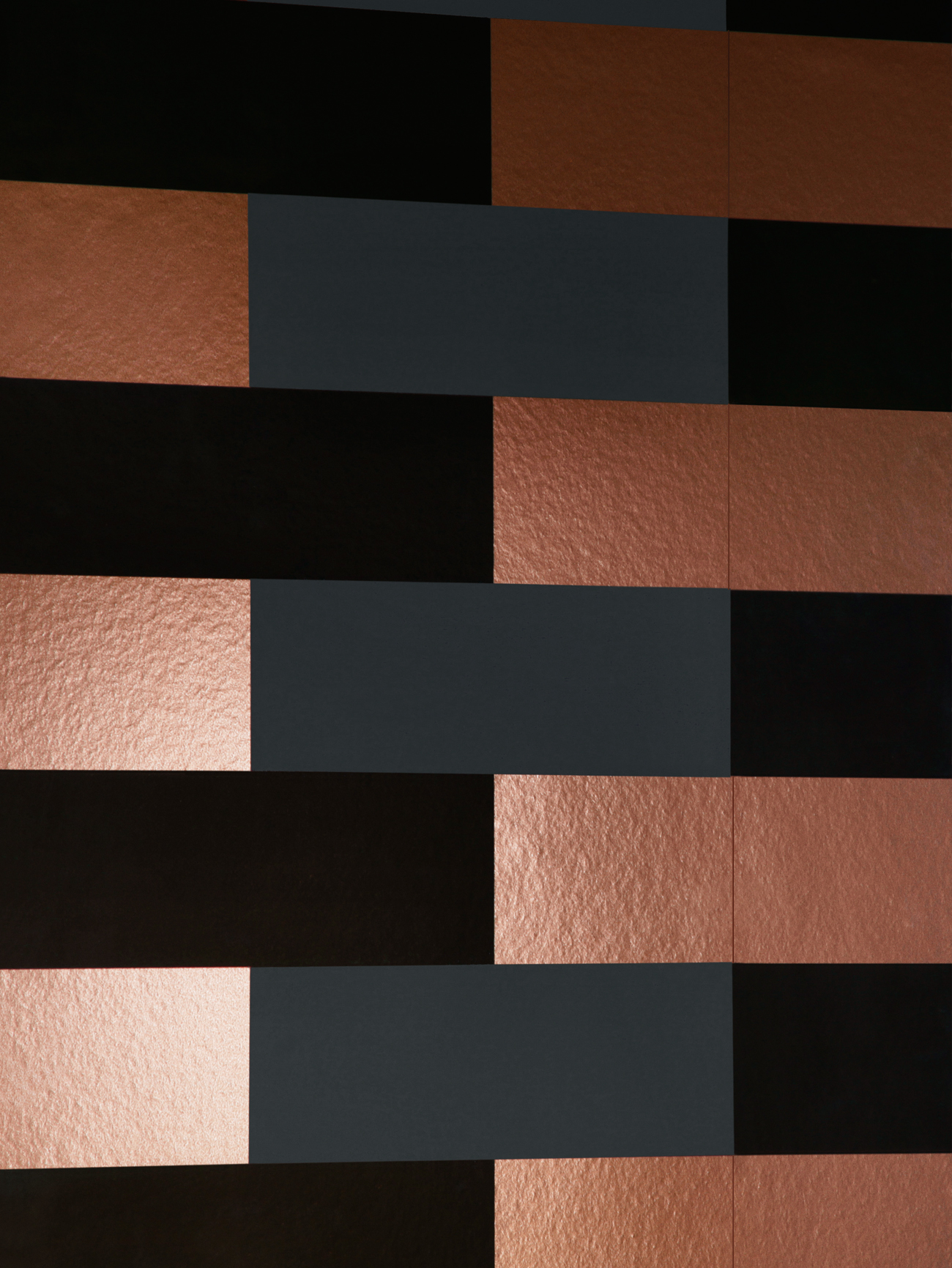 Black and bronze kitchen wallpaper photo - 8