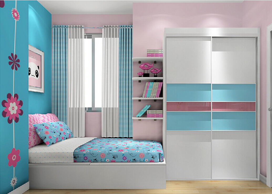 Blue and Pink Bedroom photo - 6