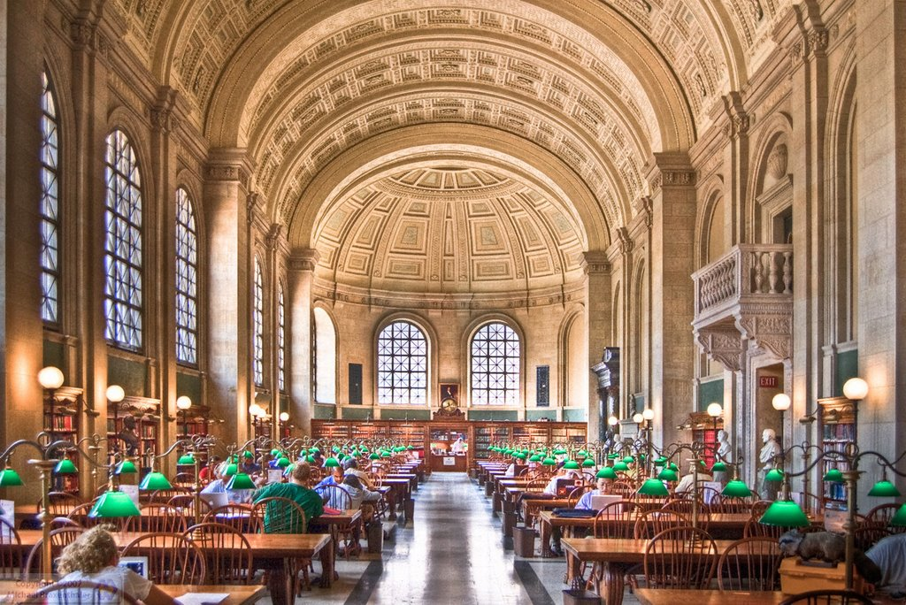 Boston Public Library Interior photo - 2