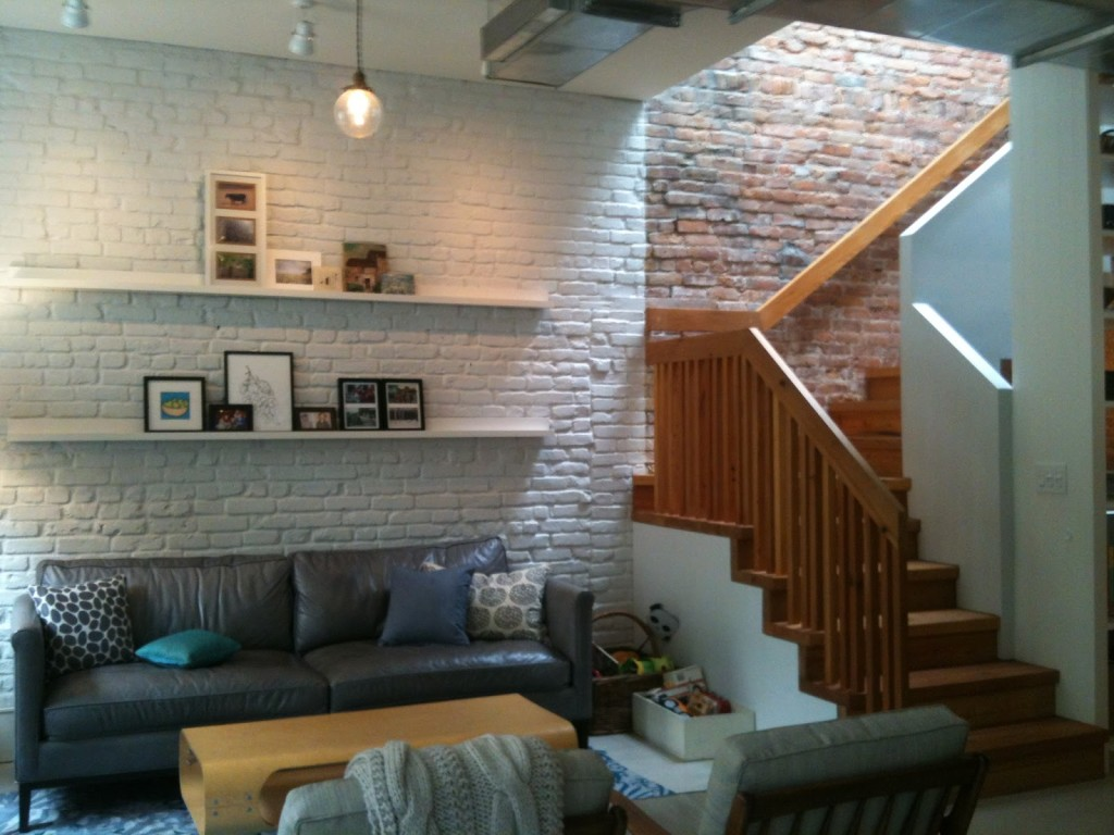 Brick Wallpaper Interior Design photo - 2
