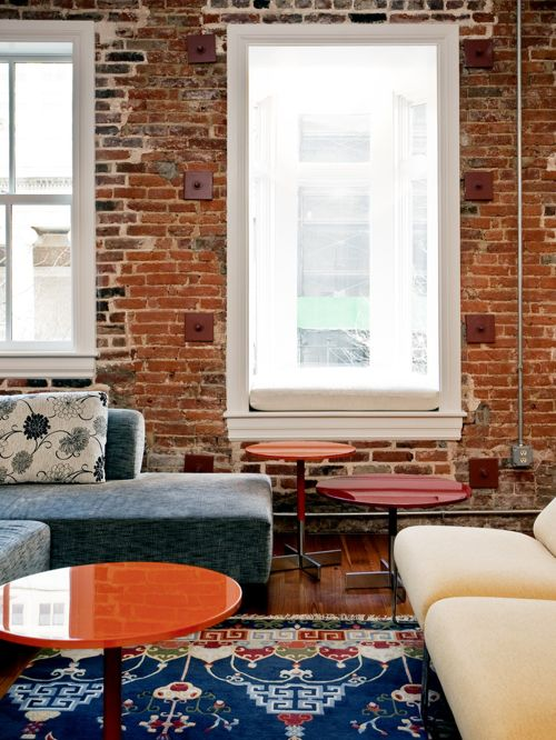 Brick Wallpaper Interior Design photo - 6