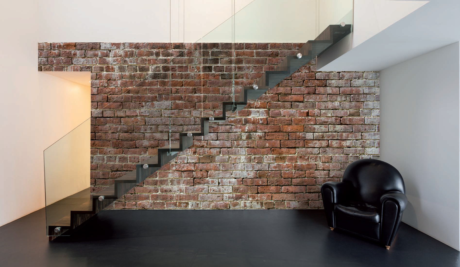 Brick Wallpaper Interior Design photo - 8