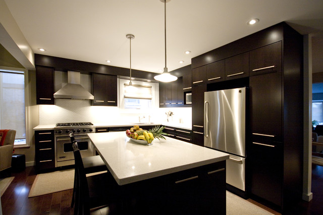 Brown Kitchen Interior Design photo - 10