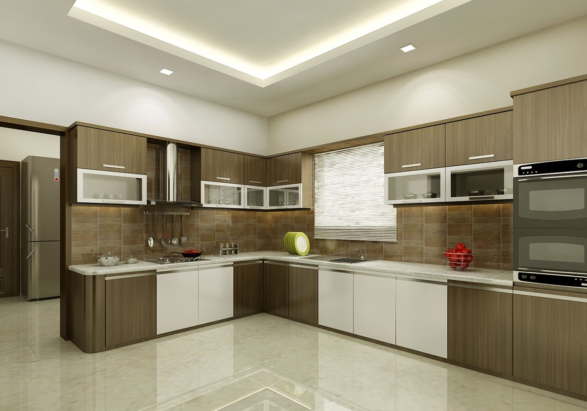 Brown Kitchen Interior Design photo - 4