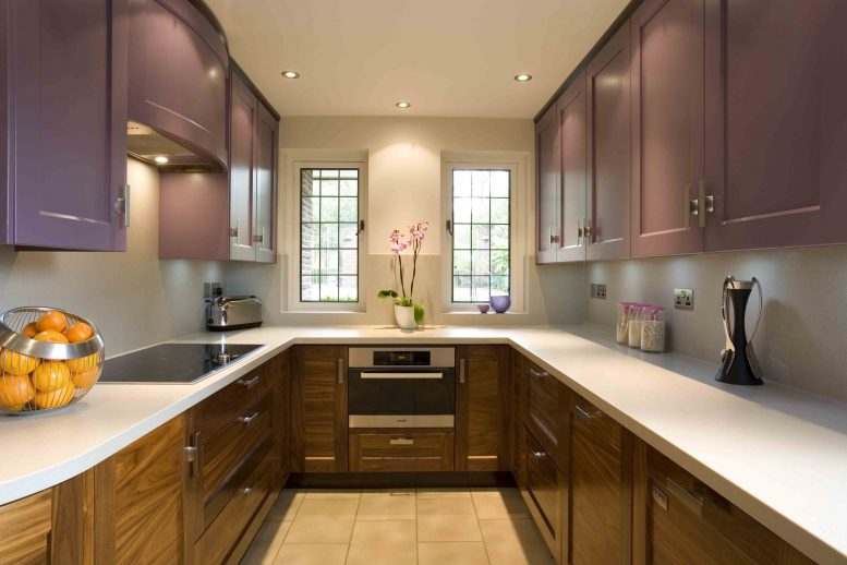Brown Kitchen Interior Design photo - 6