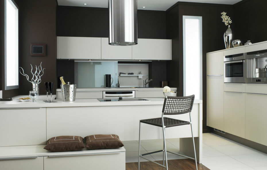 Brown Kitchen Interior Design photo - 7