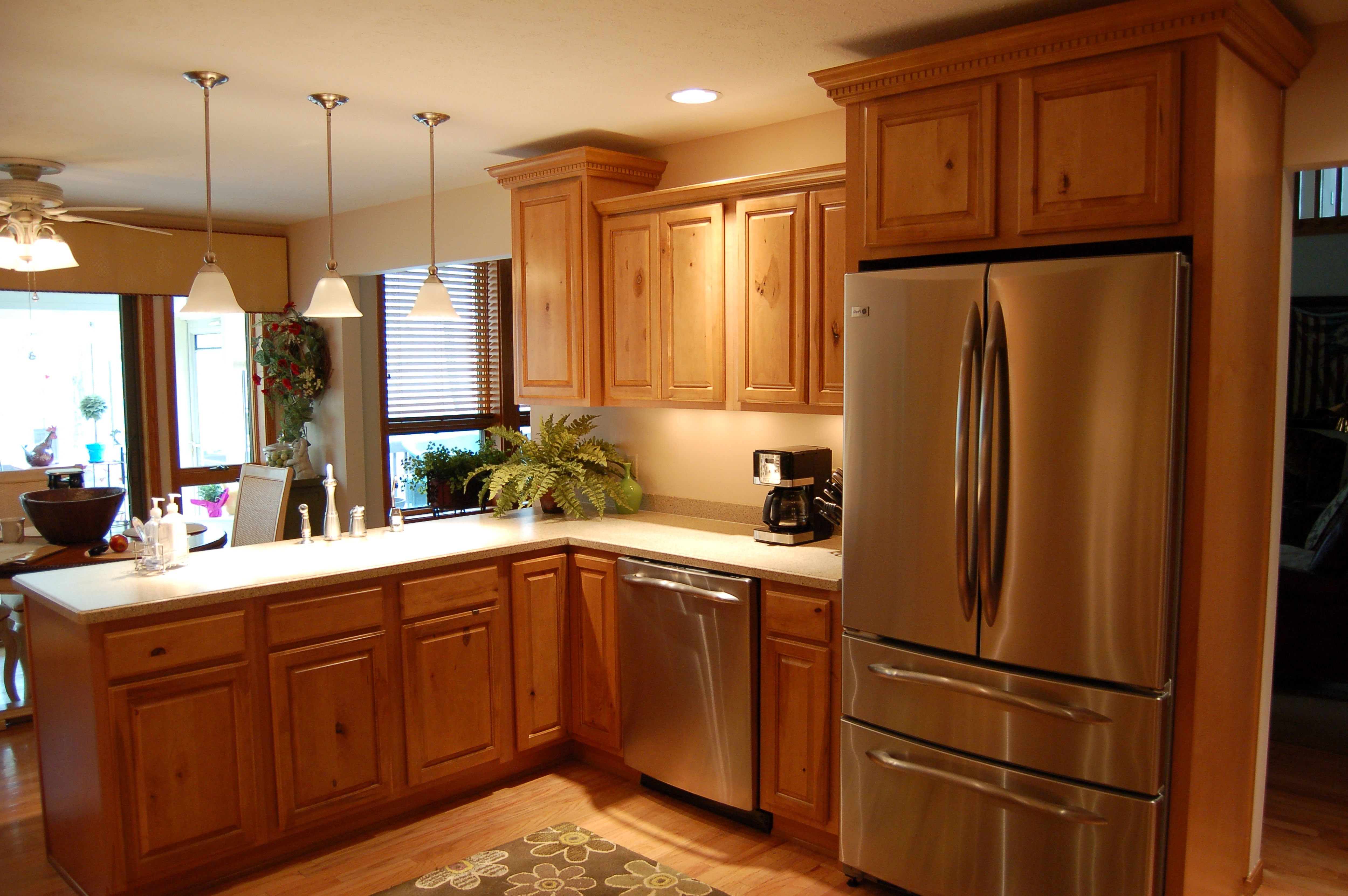 Brown Kitchen Interior Design photo - 8