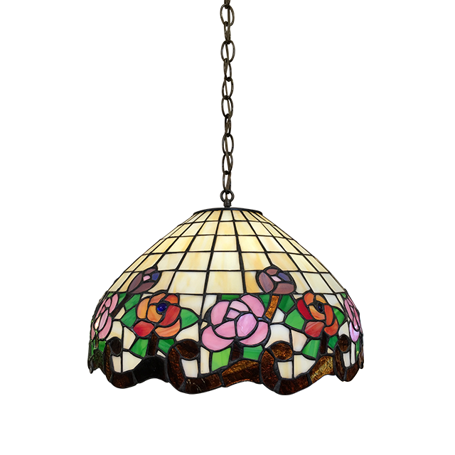 Charming Flowers Design Hanging Pendant Lamp photo - 6