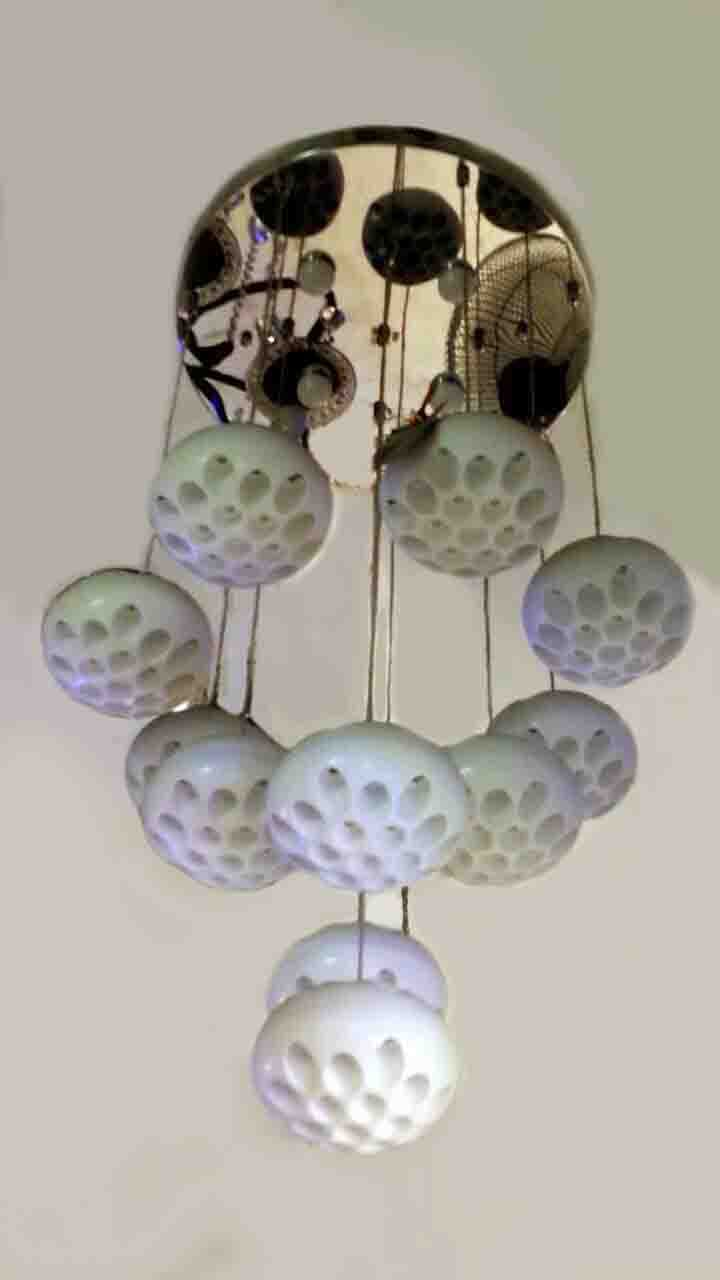Charming Flowers Design Hanging Pendant Lamp photo - 7