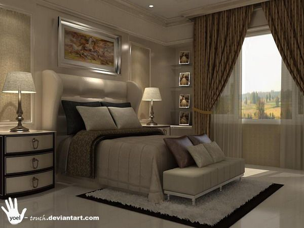 Classic Bedroom Design photo - 10