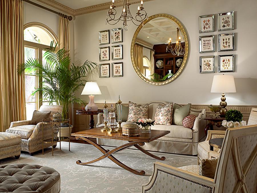 Classic Elegance Living Room photo - 3
