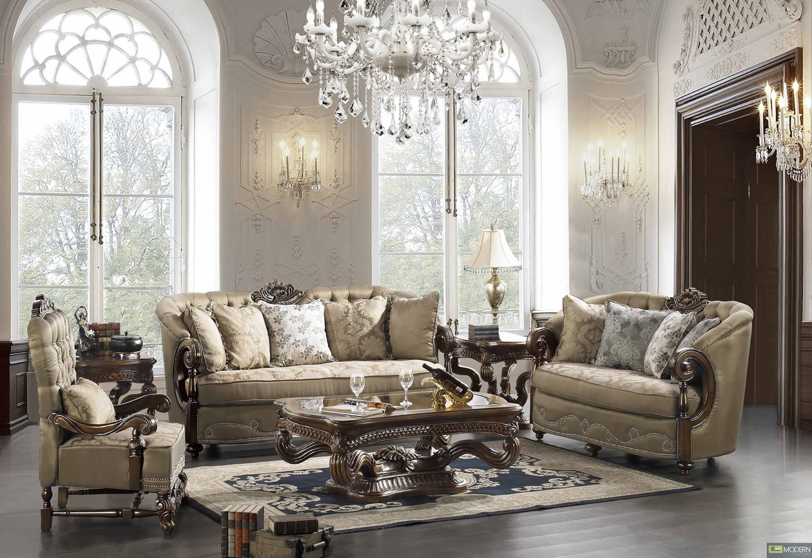 Classic Elegance Living Room photo - 8