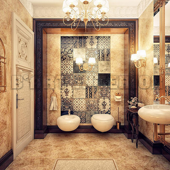Exceptionnel Classic Style Bathroom Design Photo   1