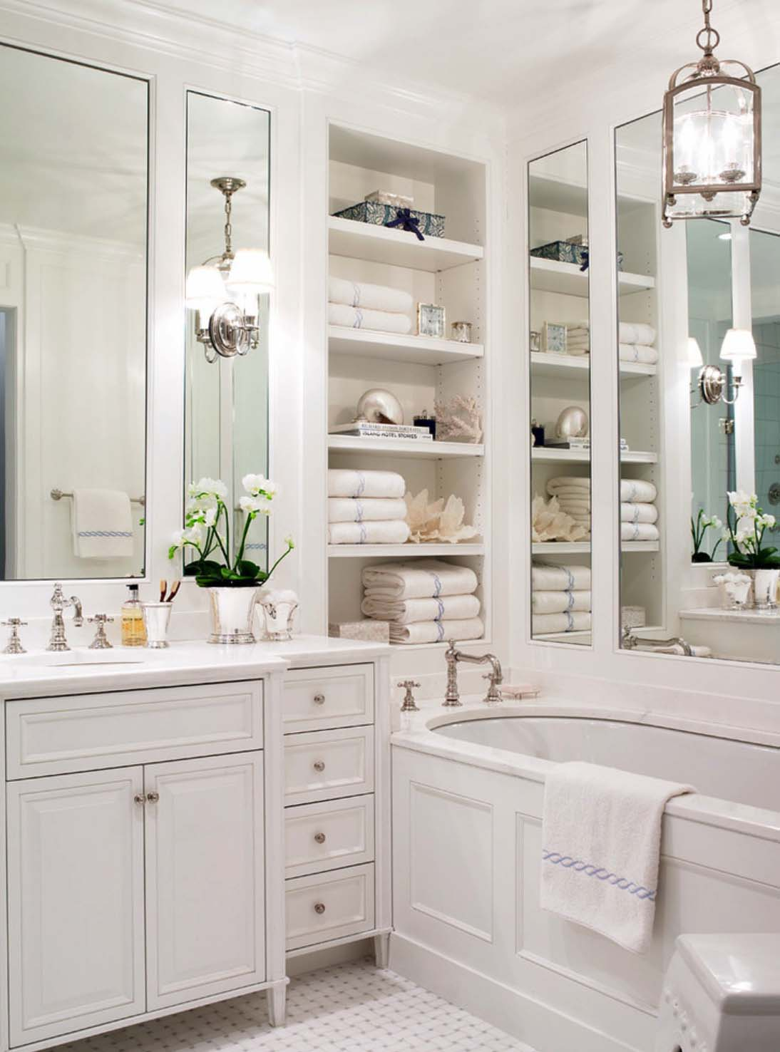 Classic Style Bathroom Design photo - 8