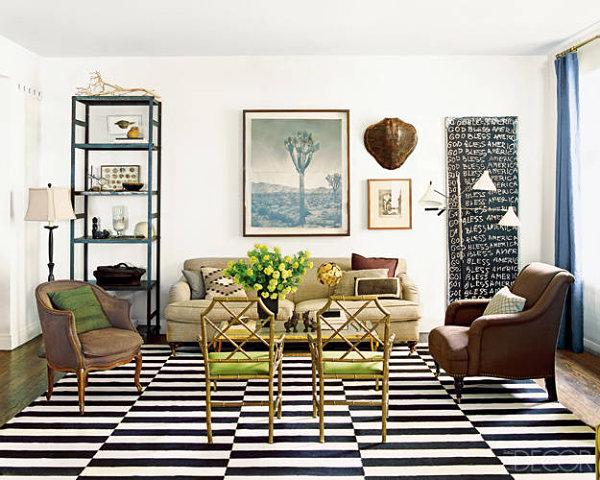 Creative Living Room Interior Design photo - 5