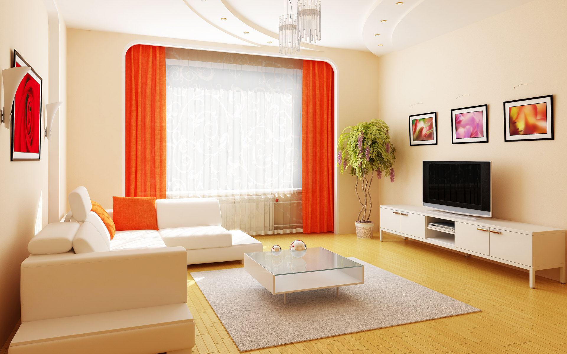 Creative Living Room Interior Design photo - 7