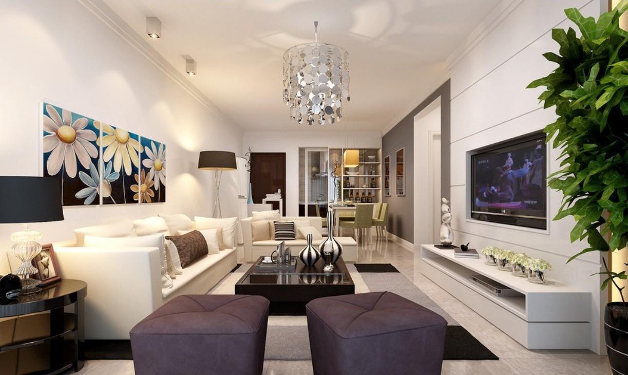Creative Living Room Interior Design photo - 8