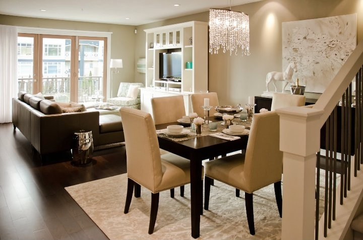 Dining Room on a Living Room Design photo - 5