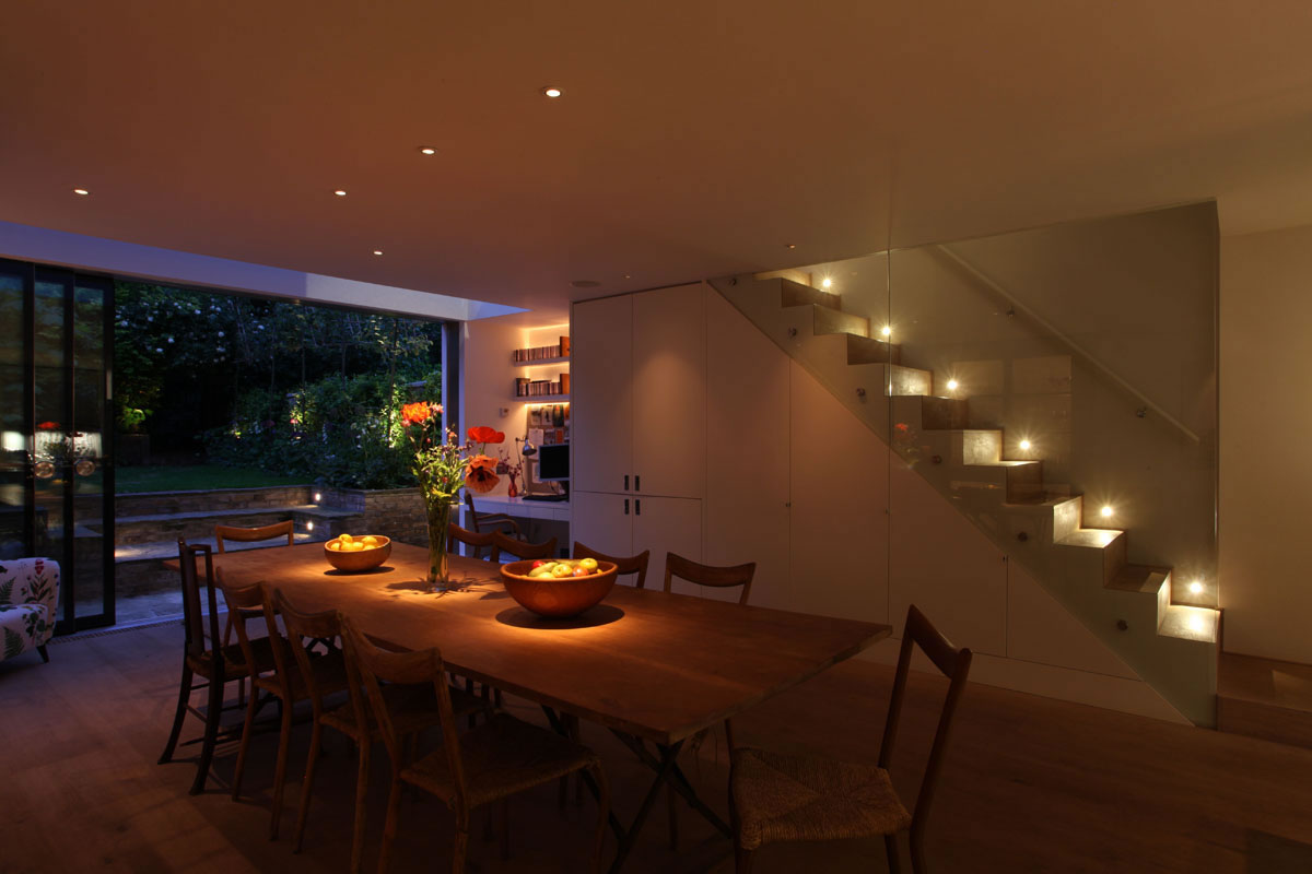Dining Room with Interior Light Design Dining